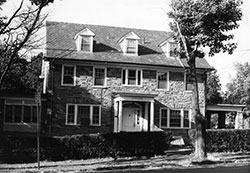 Alpha Hall at Marion Hall in the late 1970's